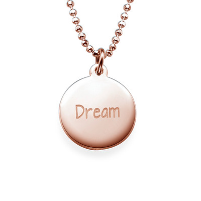 "Inspirational ""Dream"" Necklace"
