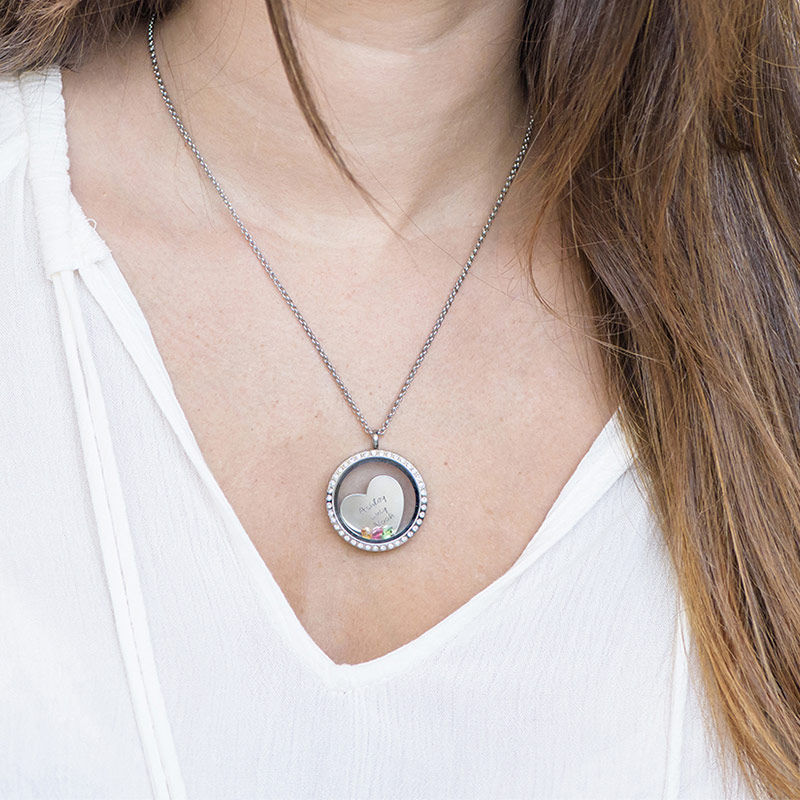 A Mothers Love Floating Locket - 4