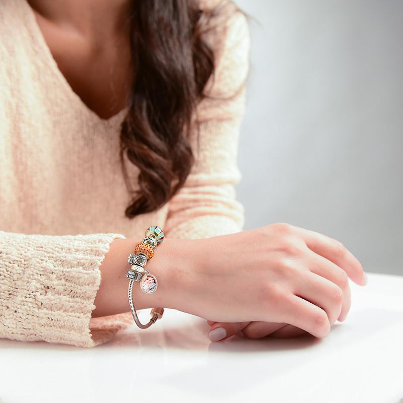 Snake Silver Bracelet - 1