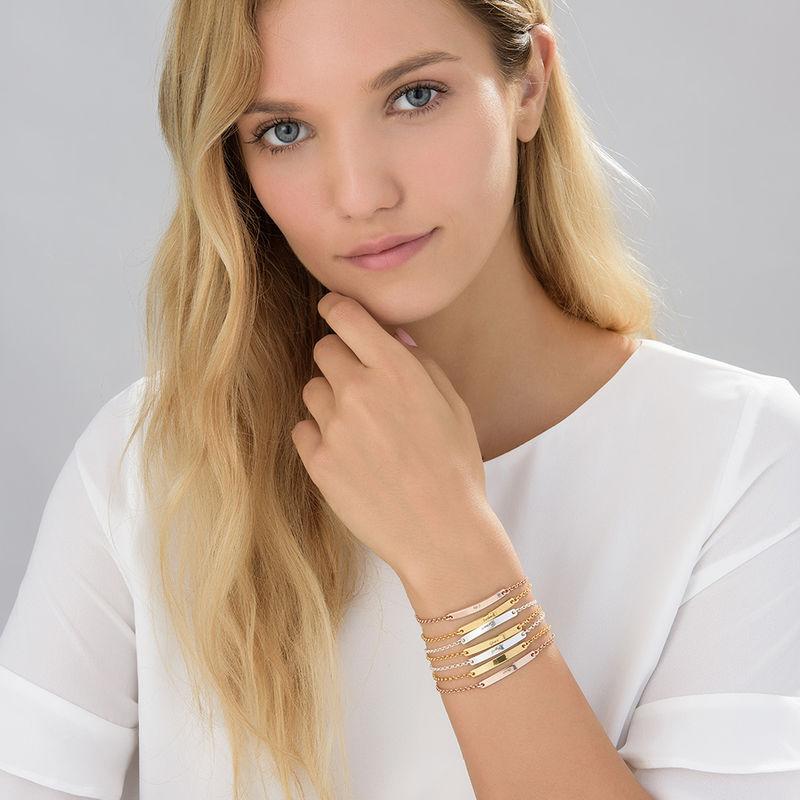 Women's ID Bracelet in Gold Plating - 2
