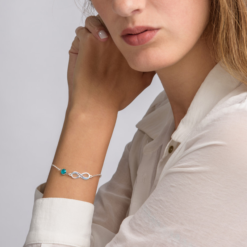 Infinity Birthstone Bracelet - 2