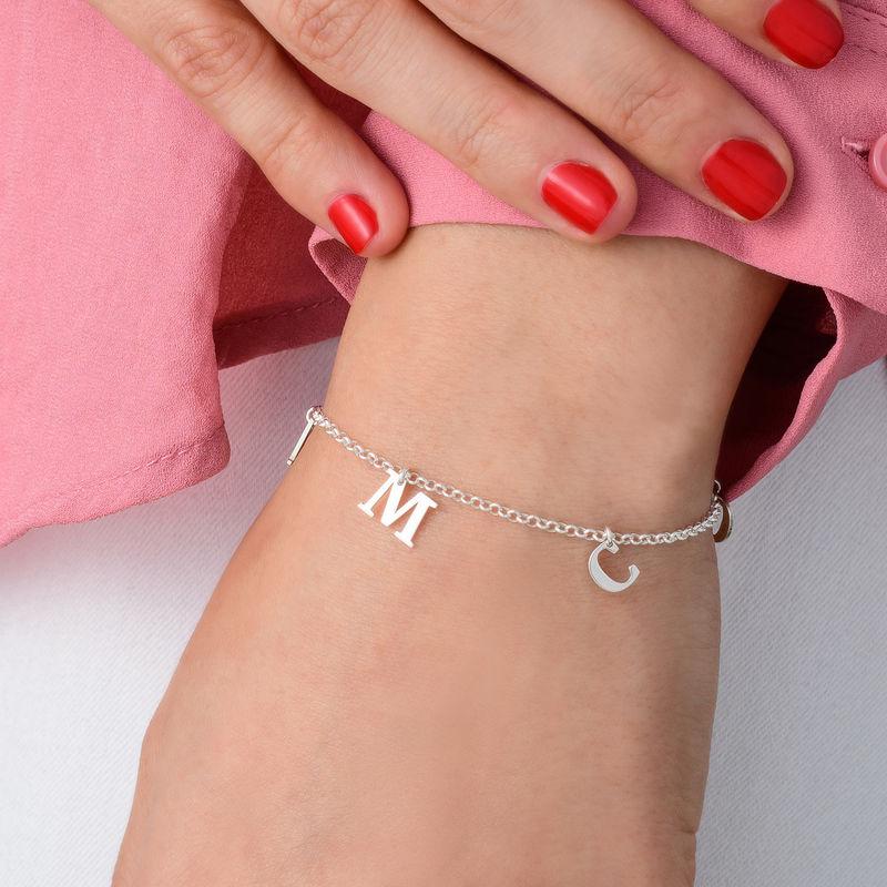 Name Bracelet in Silver - 1