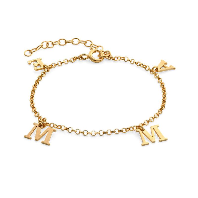 Name Bracelet in 18k Gold Vermeil