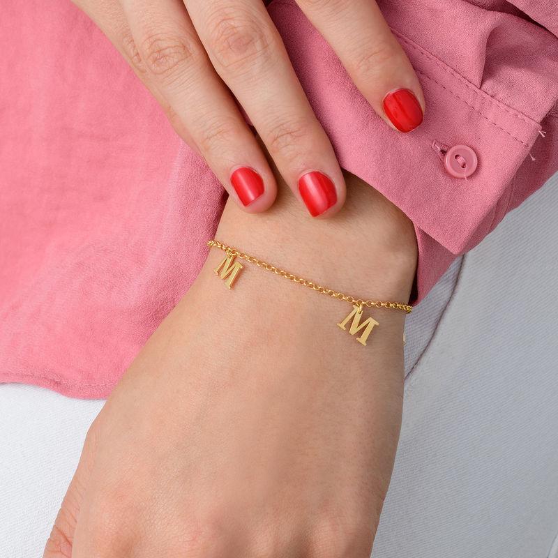 Name Bracelet in 18k Gold Vermeil - 1
