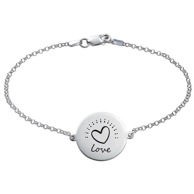 Inspirational Bracelet In Silver