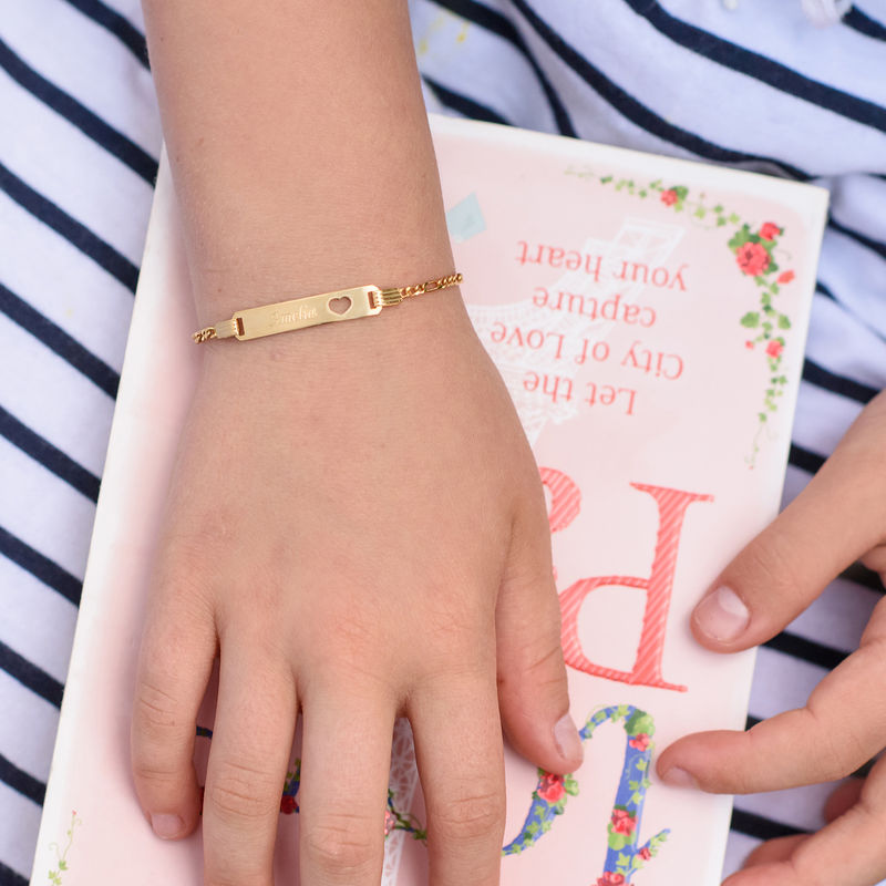 18K Gold Plated Name Bracelet for Teenagers - 3
