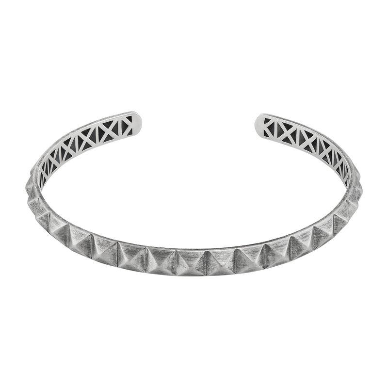 Studded Open Cuff Bracelet for Men