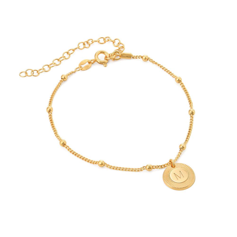 Mini Rayos Initial Bracelet / Anklet in Vermeil
