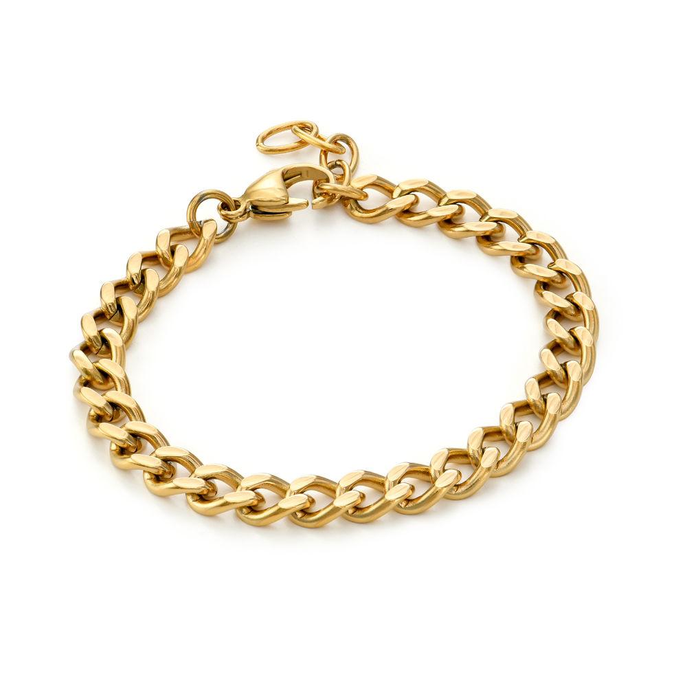 Harper Cuban Link Bracelet in Gold Plating