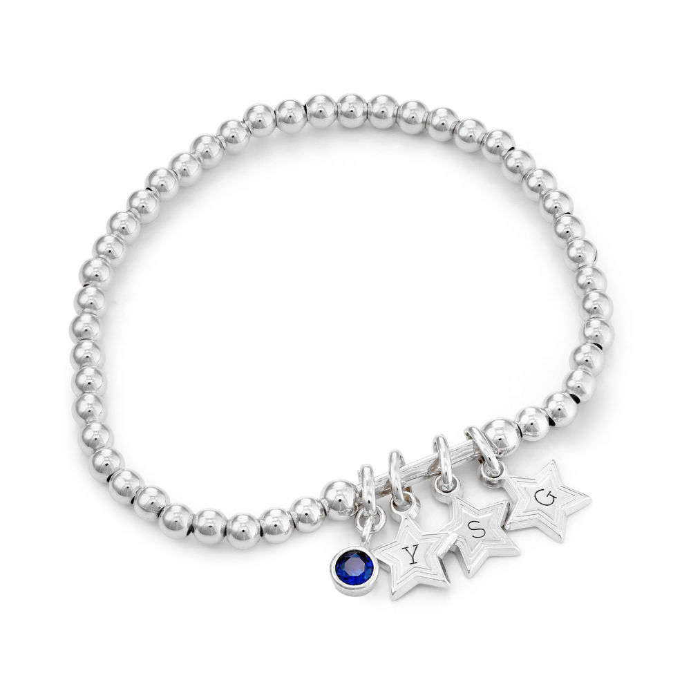 Having a Ball Bracelet with Custom Charms in Sterling Silver