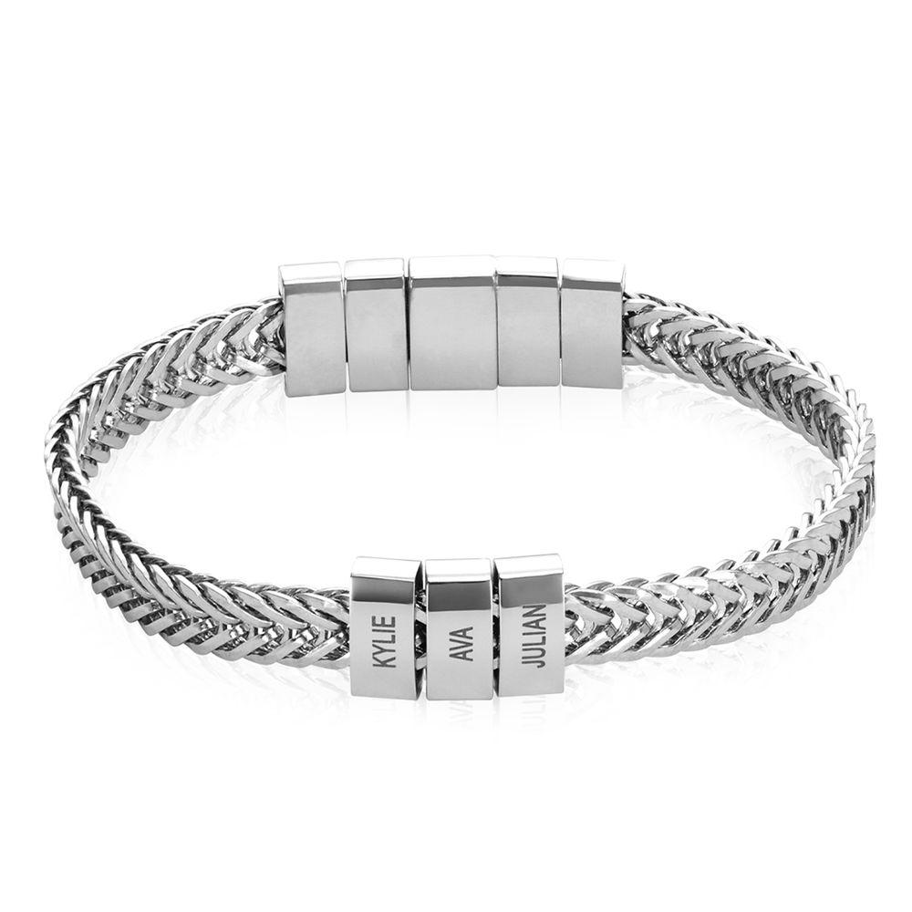 Elements Men's Beads Bracelet in Stainless Steel - 1