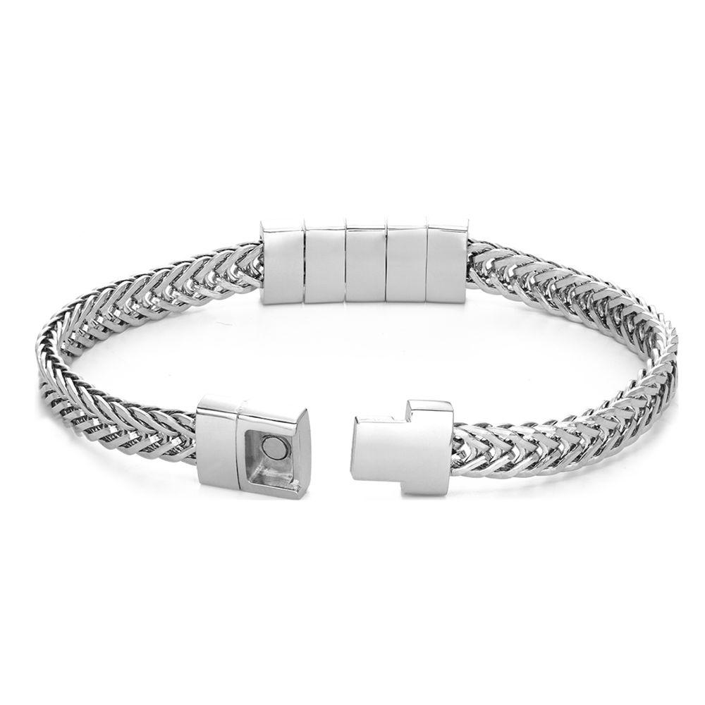 Elements Men's Beads Bracelet in Stainless Steel - 4