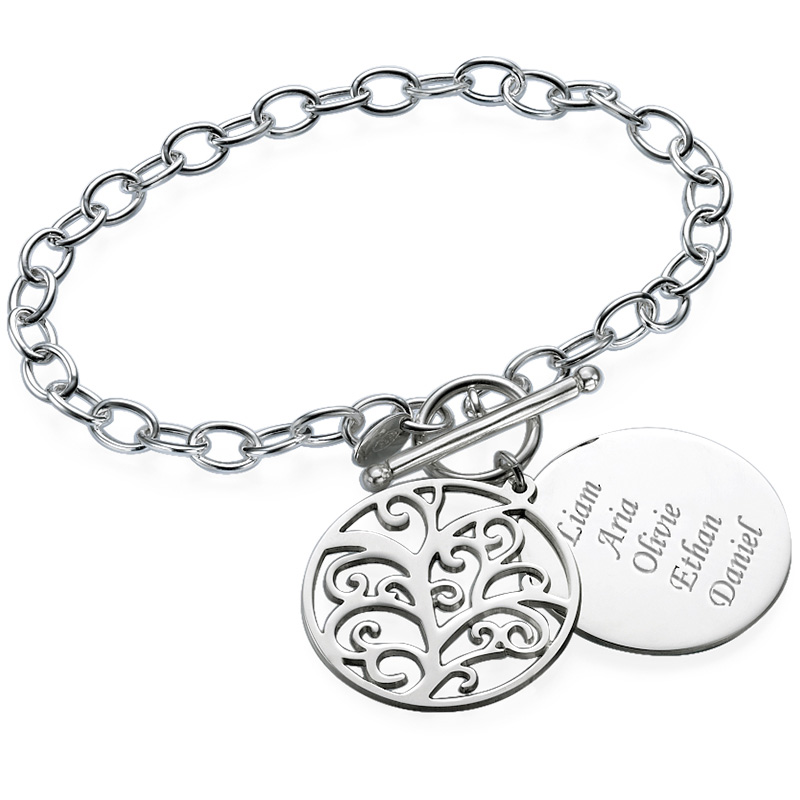 Filigree Tree of Life Bracelet