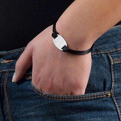 Engraved Monogram Bracelet - 2