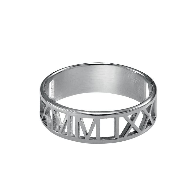 Roman Numeral Ring - 1
