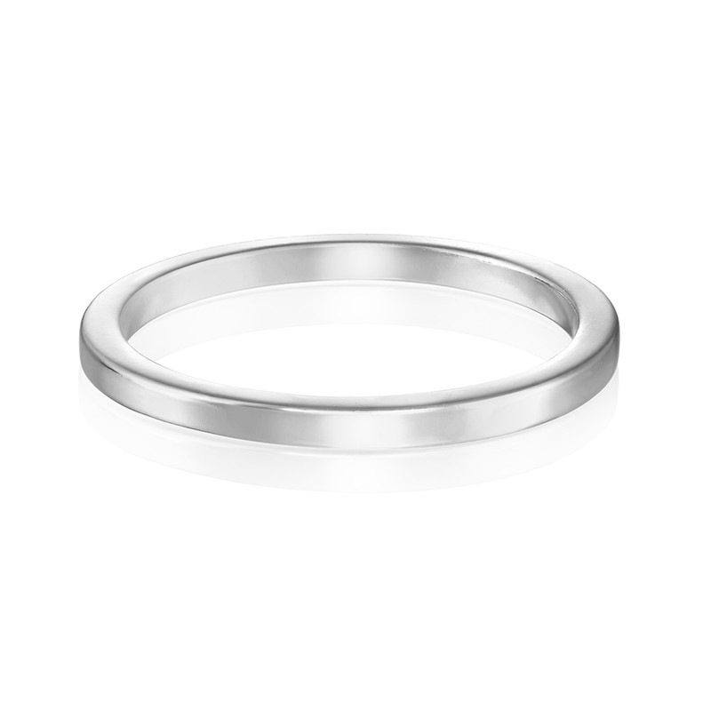 Sterling Silver Stackable Minimalist Ring - 1