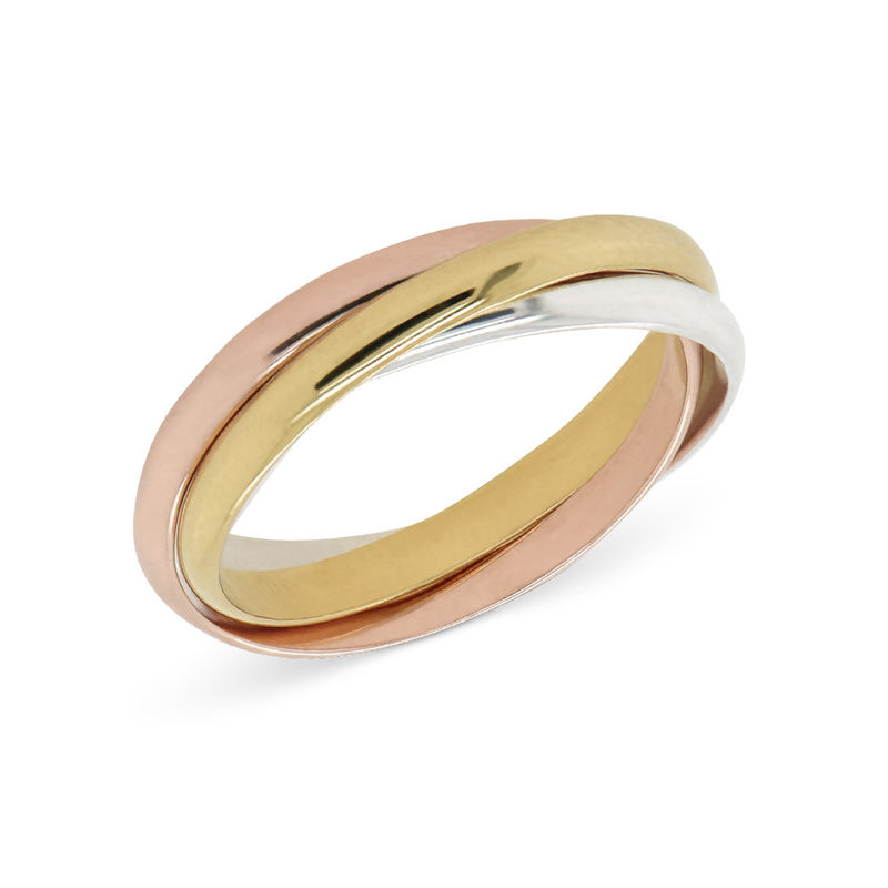 Tri-Color Russian Ring