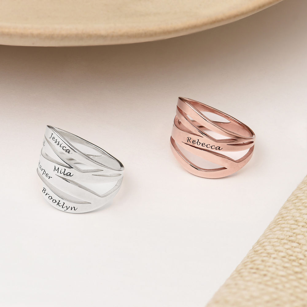 Margeaux Custom Ring in Rose Gold Plating - 2