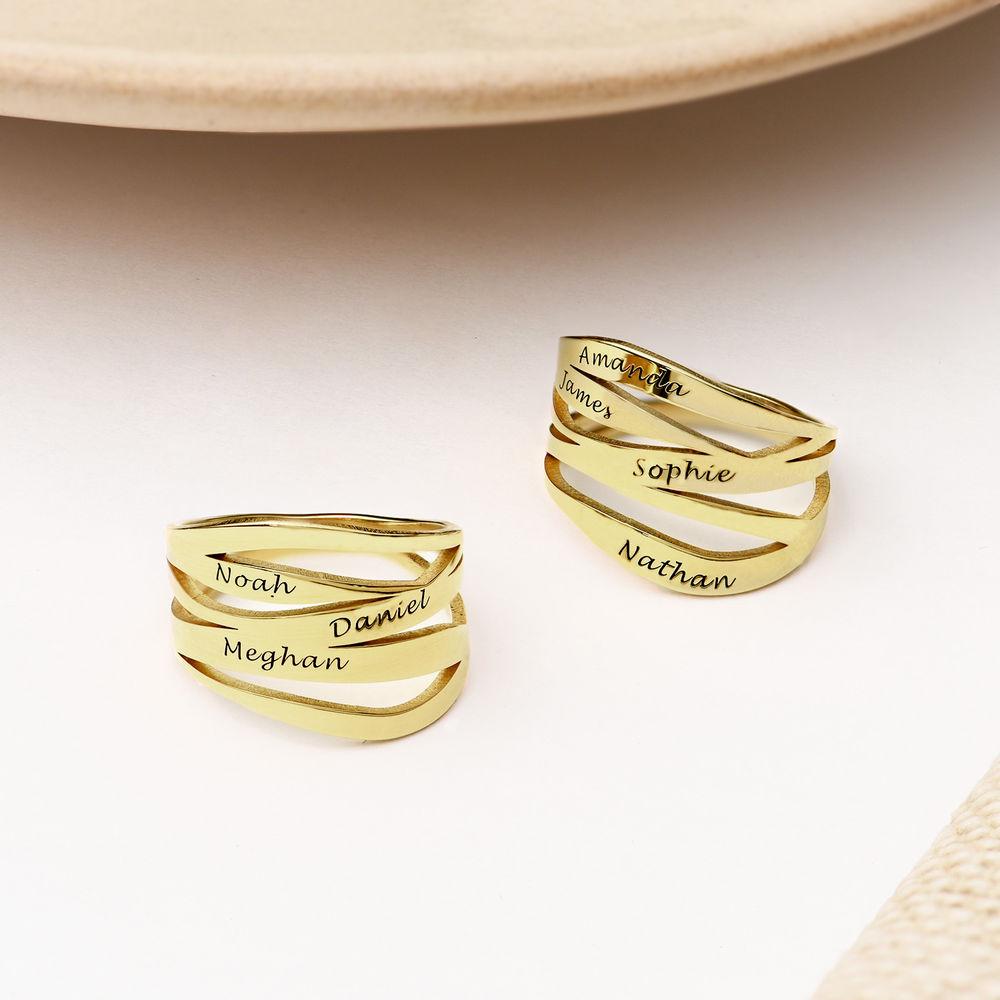 Margeaux Custom Ring in Gold Vermeil - 2