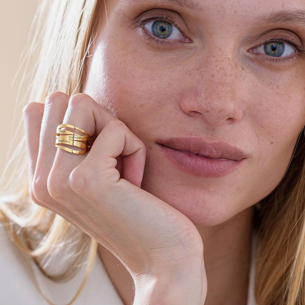 Margeaux Custom Ring in Gold Vermeil - 3
