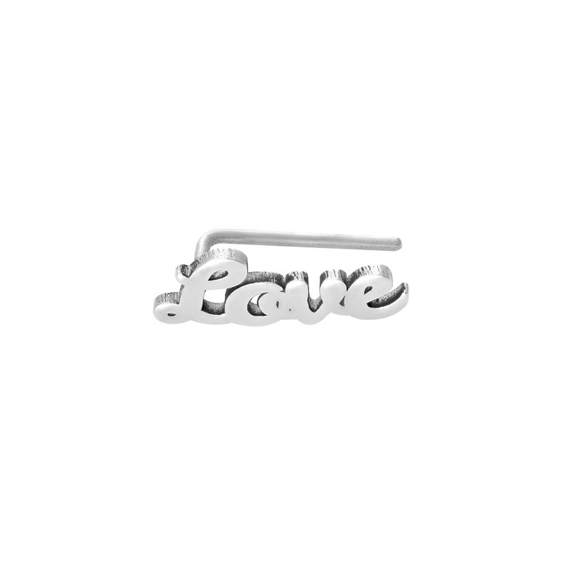 Personalized Ear Climbers in Sterling Silver - 1