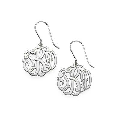 Premium Monogram Earrings