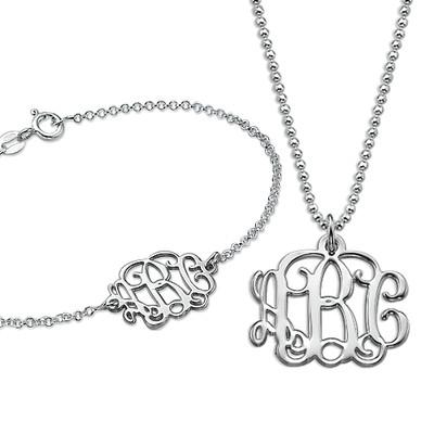 Mix & Match Monogrammed Jewelry