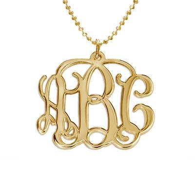 Mix and Match Monogram Necklace and Bracelet Set - 1