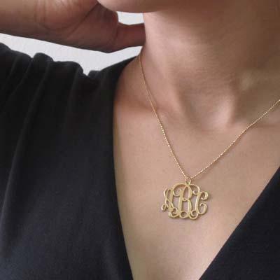Mix and Match Monogram Necklace and Bracelet Set - 3