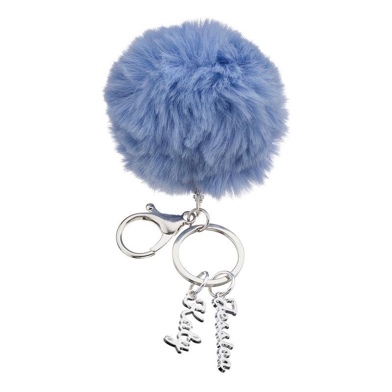 Custom Pom Pom Keychain