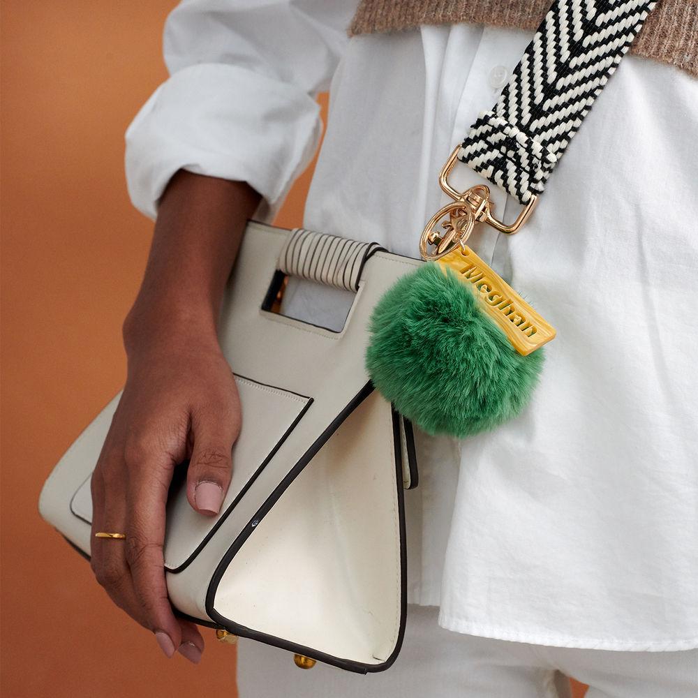 Custom Pom Pom Keychain & Bag Charm - 5