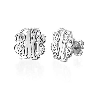Monogram It: Monogram Necklace + Earrings - 1