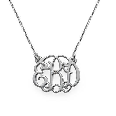 Monogram It: Monogram Necklace + Earrings - 2