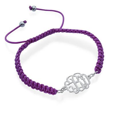 Arm Candy: Name Bracelet + Cord Bracelet - 2