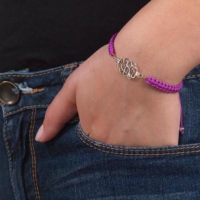 Arm Candy: Name Bracelet + Cord Bracelet - 4