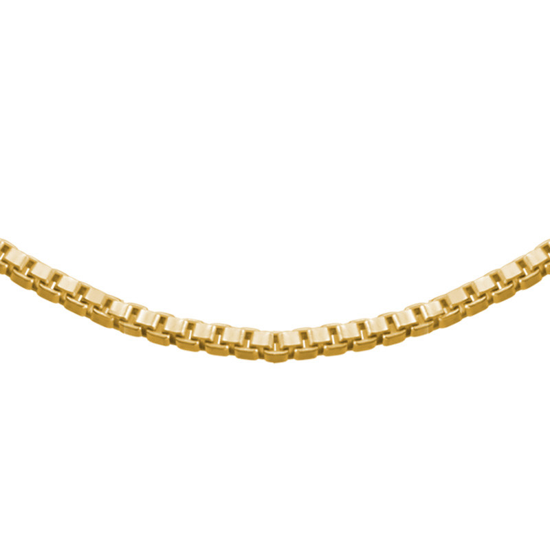 Box Chain - Gold Plated - 1