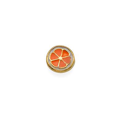 Orange Charm for Floating Locket
