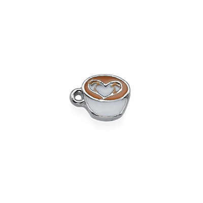 Coffee Cup Charm for Floating Locket