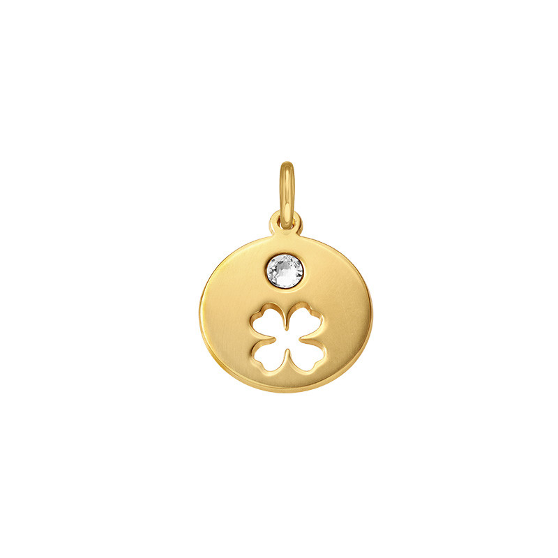 Birthstone Charm – Gold Plated
