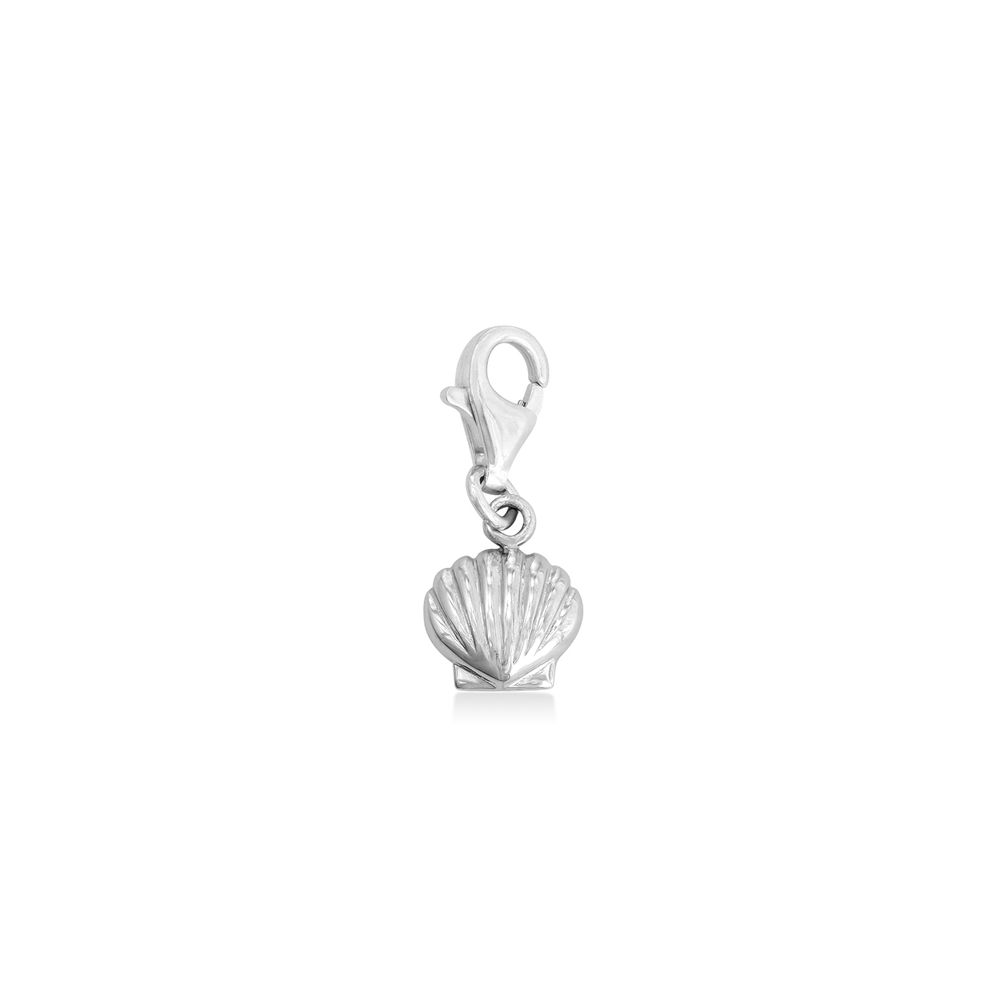 Shell Charm in Sterling Silver
