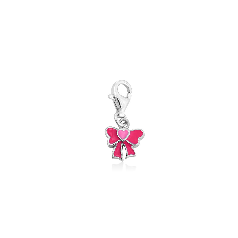 Bow Charm in Sterling Silver