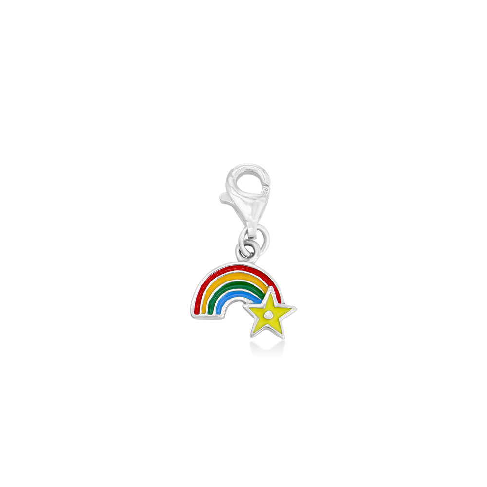 Rainbow Charm in Sterling Silver