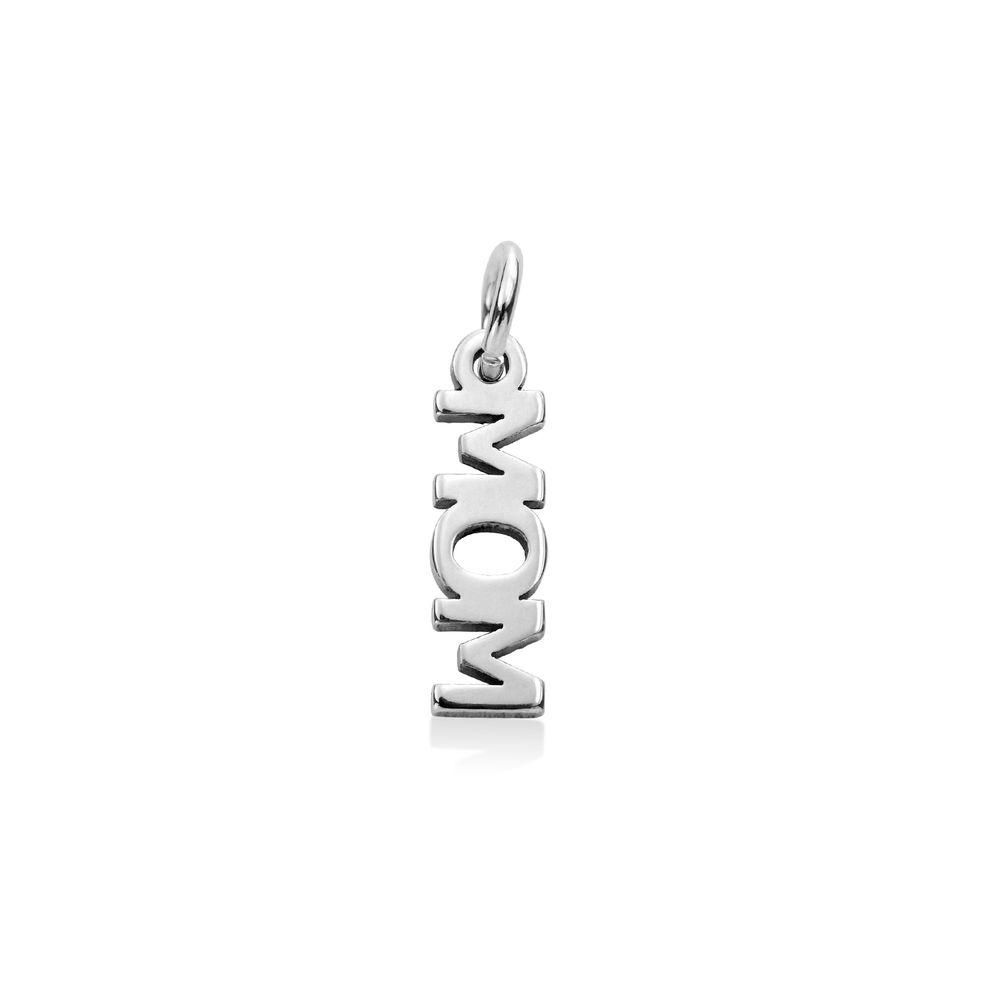 Mom Charm in Sterling Silver for Linda Necklace
