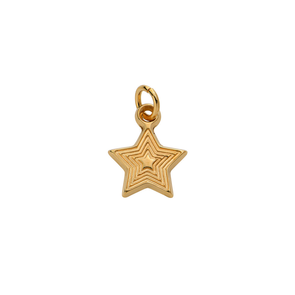 Star Charm in Gold Vermeil for Linda Necklace