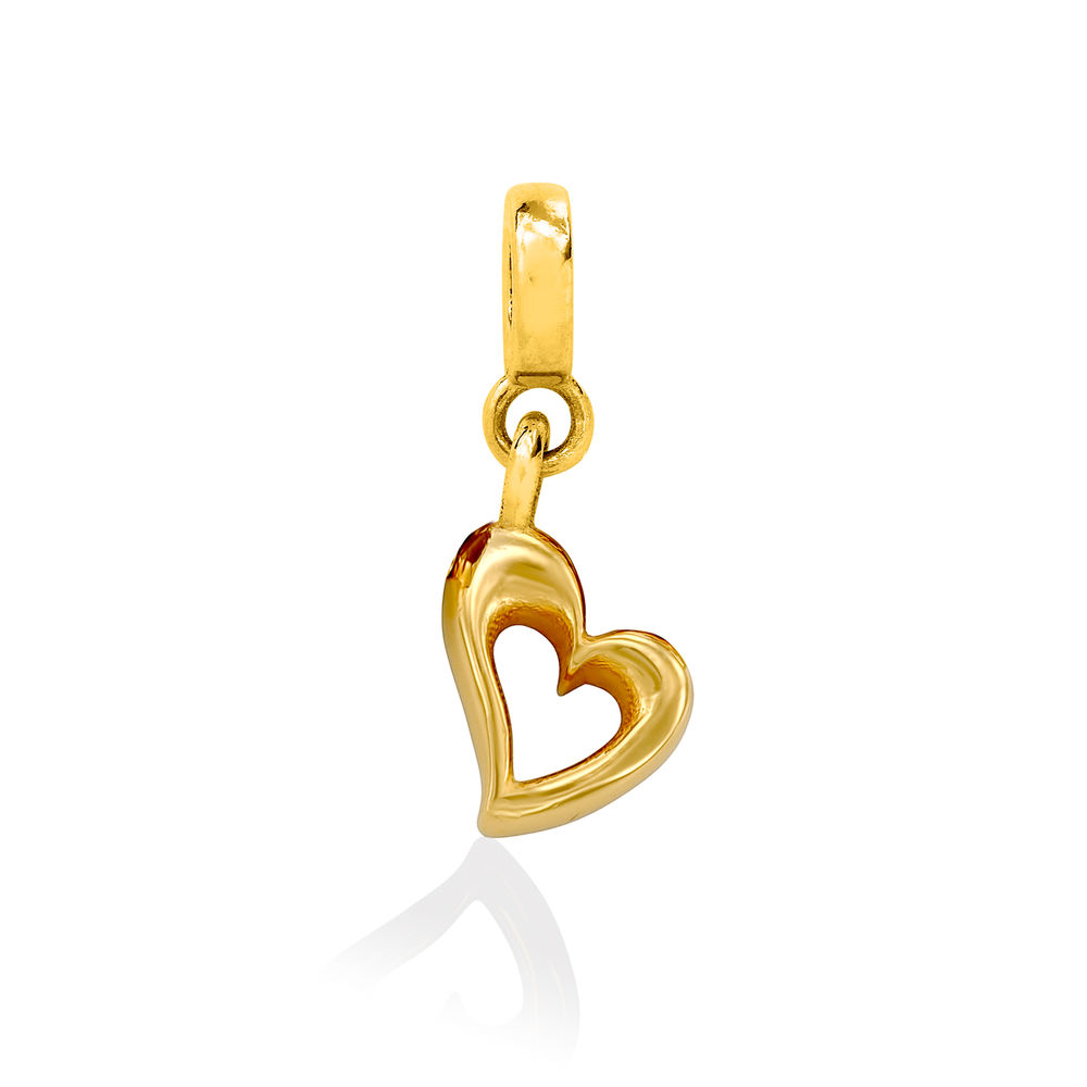Heart Charm in Gold Vermeil for Linda Bangle