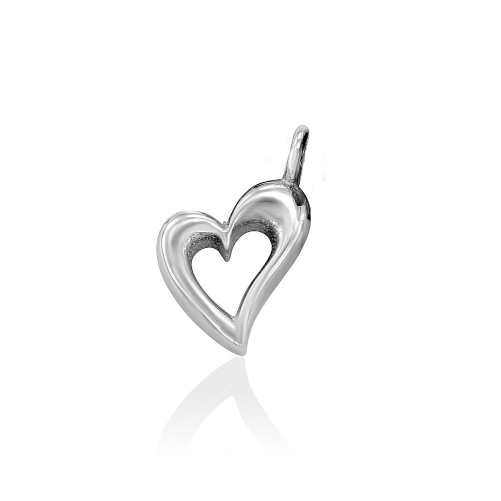 Heart Charm in Sterling Silver for Linda Necklace