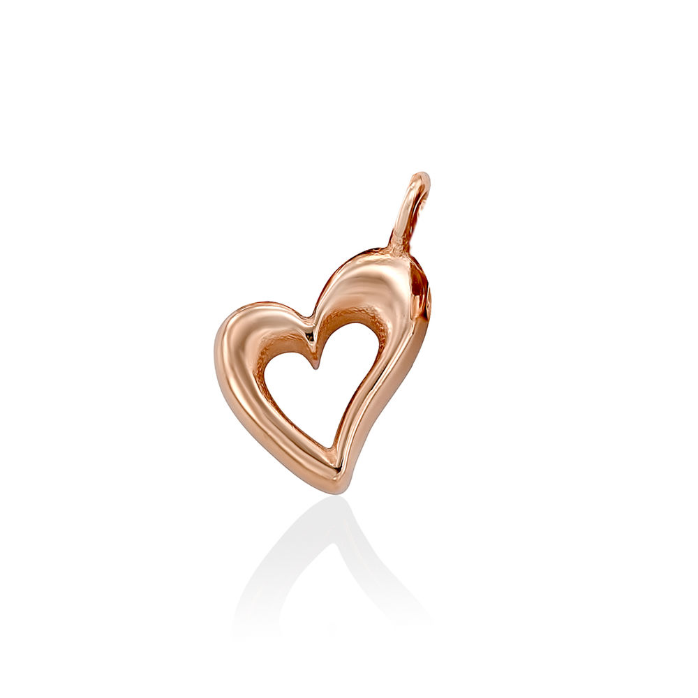 Heart Charm in Rose Gold Plating for Linda Necklace