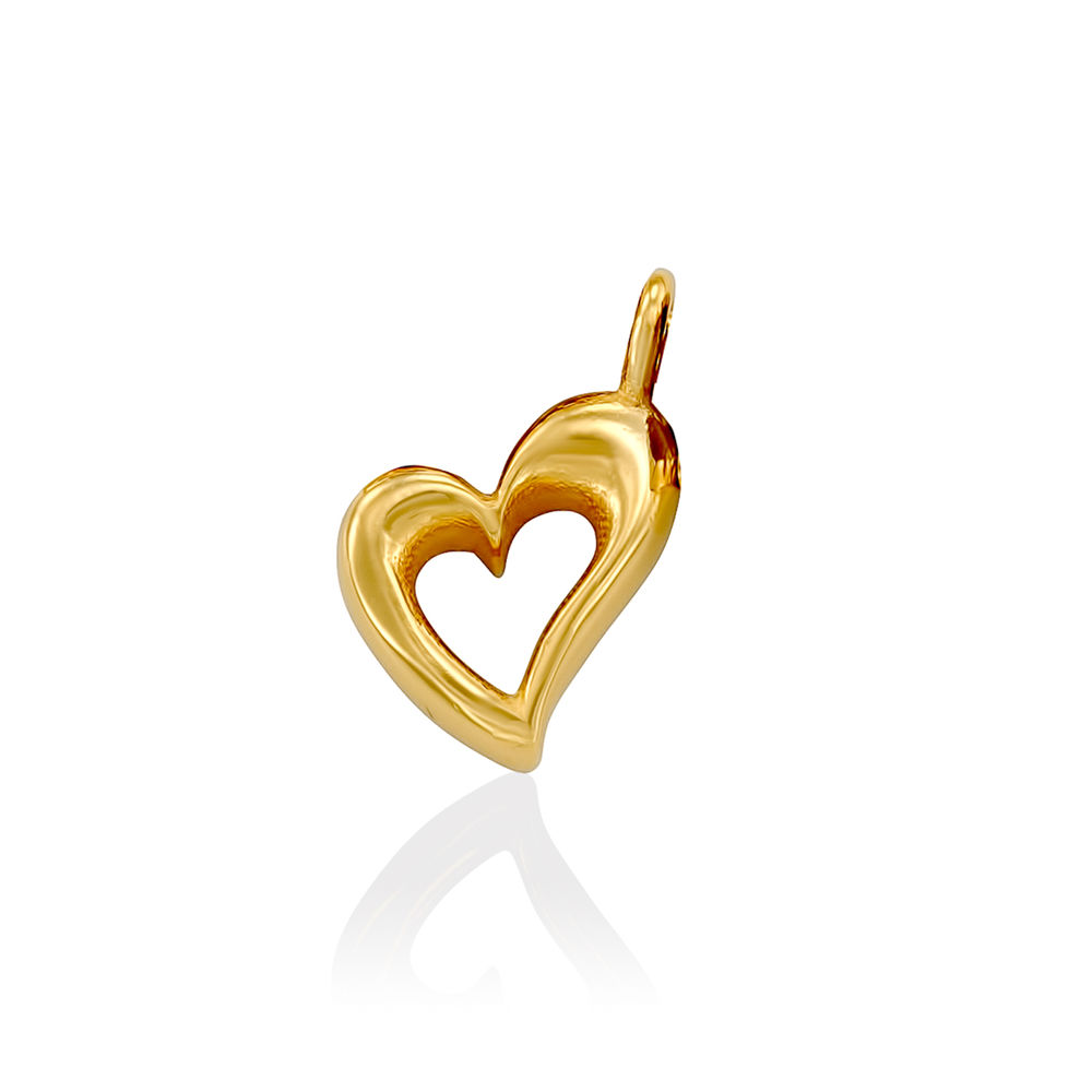 Heart Charm in Gold Vermeil for Linda Necklace