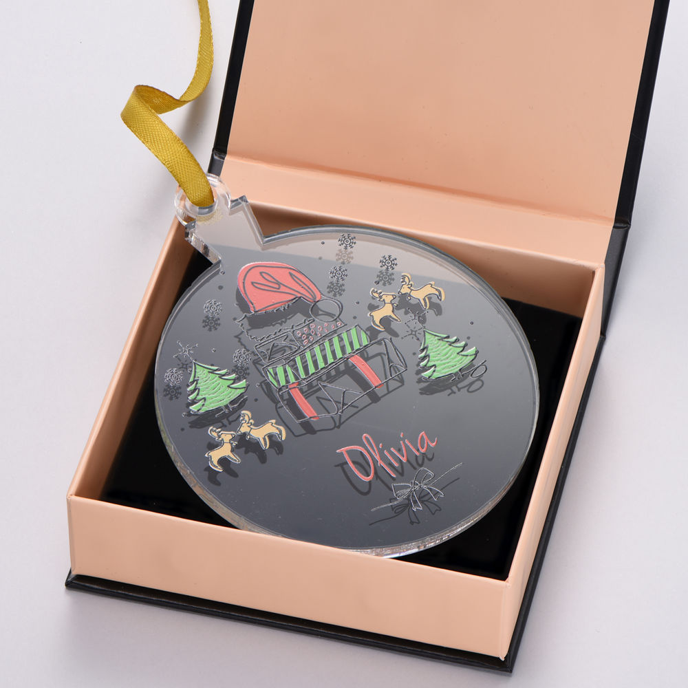 Custom Christmas Ornament- Personalize with 1 Name