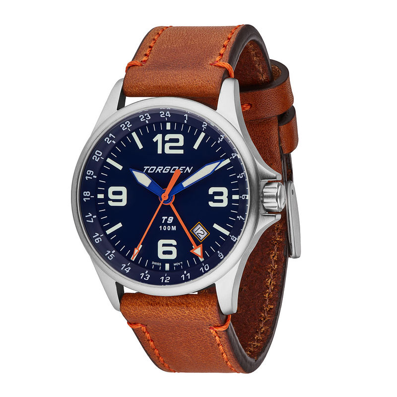 Torgoen Men's Watch T9 BLUEBIRD GMT